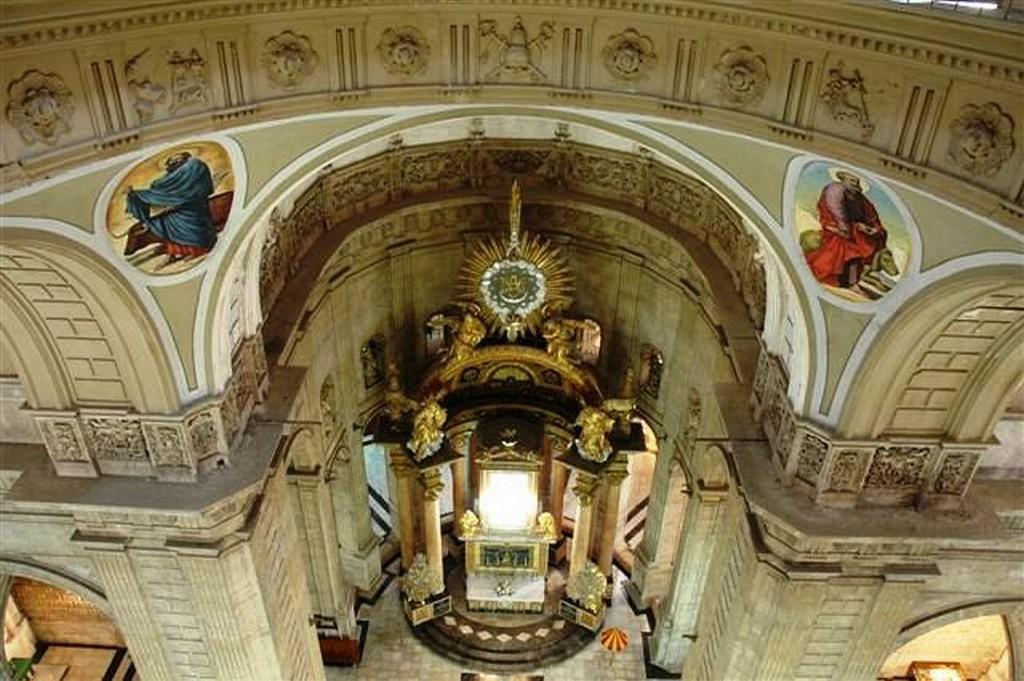 Altar major, Seu