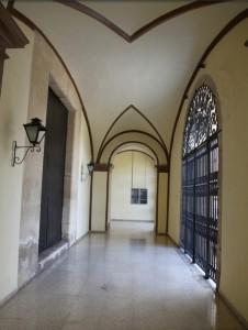 Interior del convent Sant Onofre, el Nou.