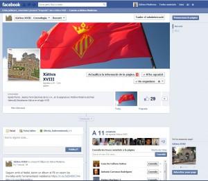 Pàgina de Xàtiva al fb
