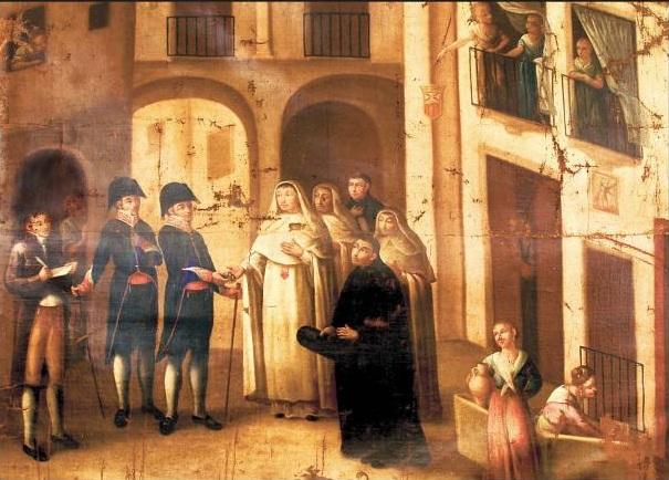 Posesión del Consejo de S. Miguel de S. Felipe (1814) Vicente López