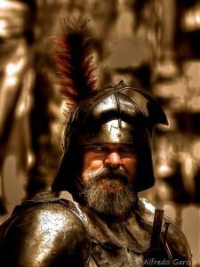 Fotografía tomada durante la recreación histórica de los Borgia en Xàtiva por el fotógrafo Alfredo García