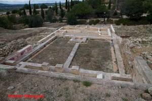 Restos del palacio árabe de la aljama musulmana de Xàtiva.