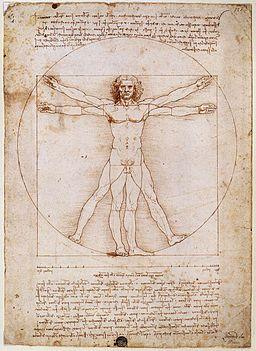 Europa Renacentista, El hombre de Vitrubio,