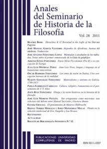 Anales del Seminario de Historia de la Filosofía