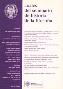 Revista Anales del Seminario de Historia de la Filosofía