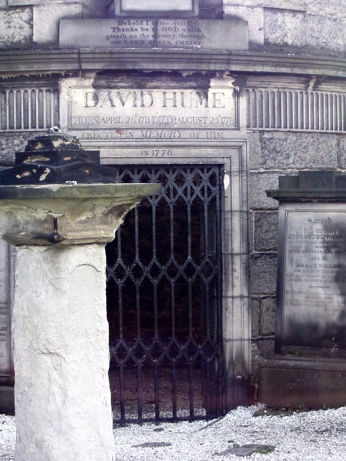 studies in the philosophy of david hume david hume s grave