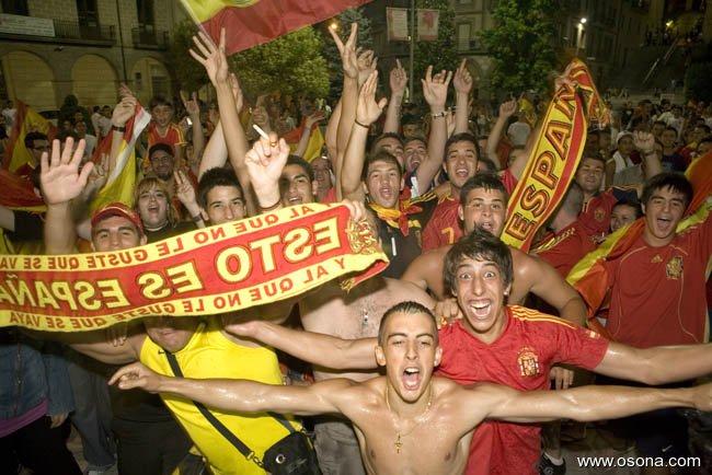 «Esto es España, y al que no le guste que se vaya.» (Foto: Osona.com)