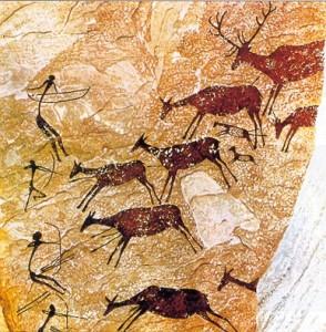 Pintura rupestre.