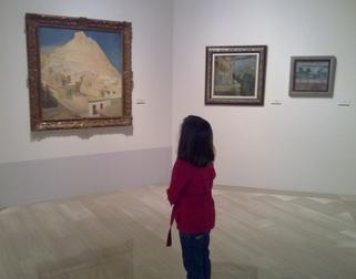 Visita a la exposición Emilio Varela (Alicante, Abril 2010)