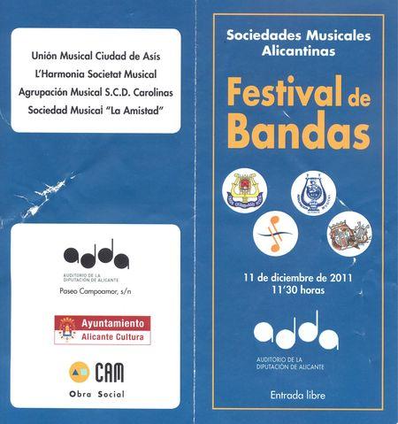 Festival de Bandas 2011 a