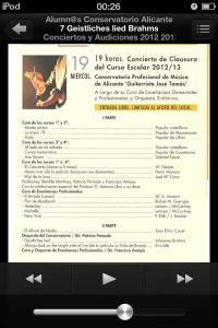 Progrma Clausura 2012 2013