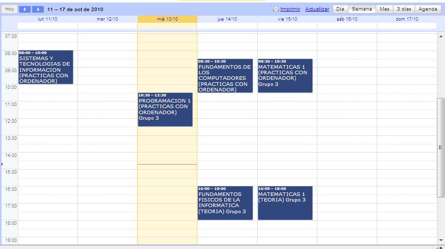 Calendario Ua.Unidad De Laboratorios De La Eps Llevate Tu Horario A Donde