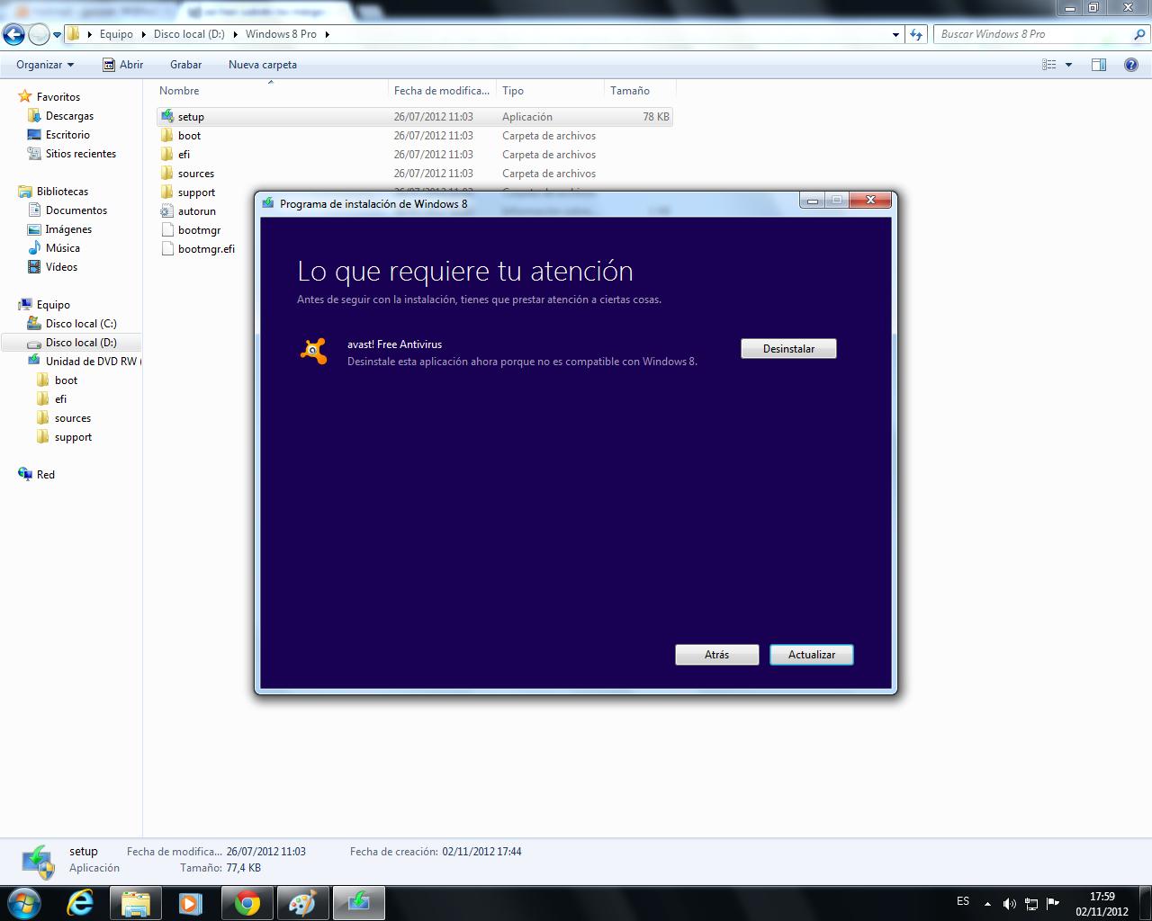 Paso a paso Actualizaci 243 n de Windows 7 a Windows 8