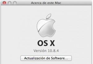 Mac OS X v.10.8.4