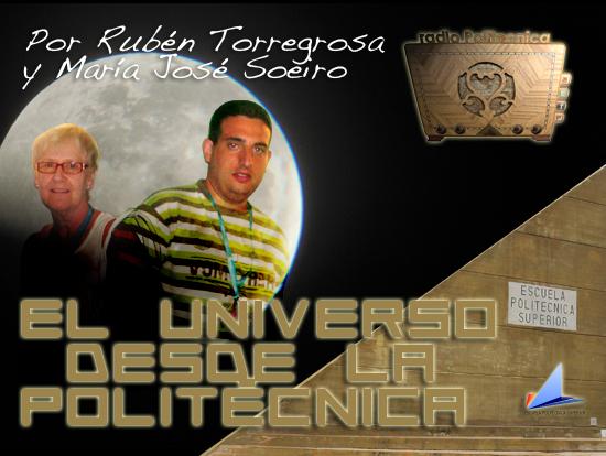 Portada del programa de Radio Politécnica - Universo desde la Politécnica
