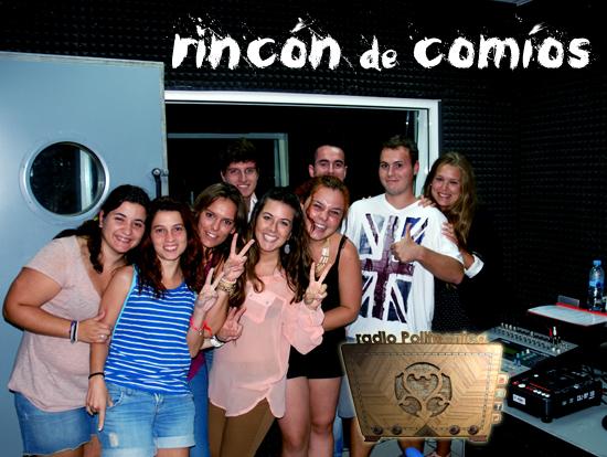 Portada del programa de Radio Politécnica - Rincón de Comíos