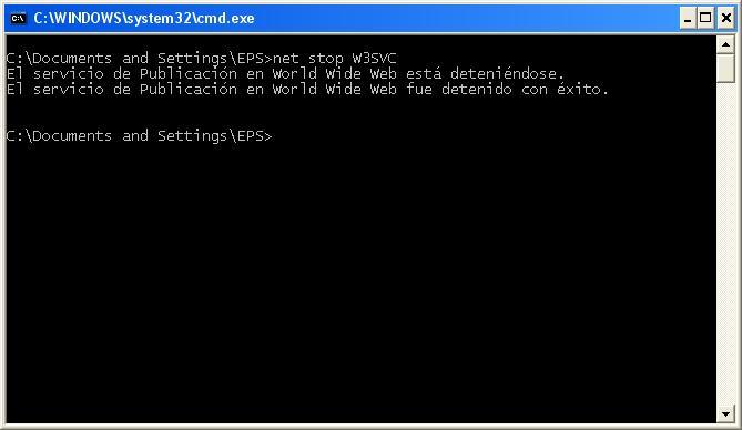Consola MS-DOS