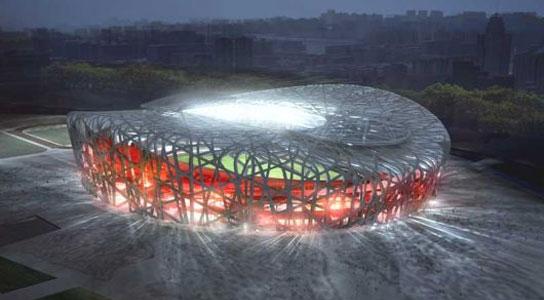 Estadio olimpico de Pekin (2008)