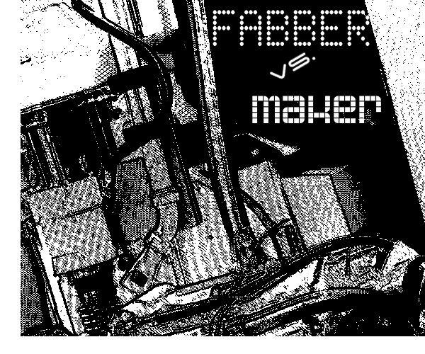 Fabber vs Maker póster FabLabALC