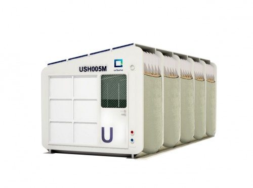 Prototipo de refugio para situaciones de emergencia de Urbana IDR en el que colabora el FabLabALC
