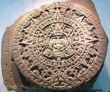 Calendario Solar Maya.El Calendario Los Aztecas
