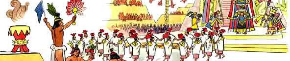 Resultado de imagen de fiesta azteca blog niños