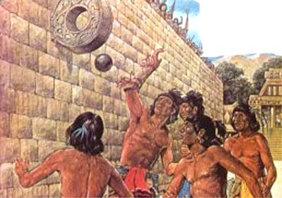 El Juego De Pelota Tlachtli Los Aztecas