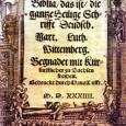 La fuente de estudio principal de Lutero fueron siempre las Sagradas Escrituras. Según Ramón Conde, la Biblia era para Lutero la Palabra viva de Dios, una guía infalible para regular […]