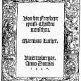 Una de las mayores críticas recibidas por Lutero por parte de sus opositores ha versado sobre la libertad del cristiano y la supuesta carencia de una ética para la vida […]