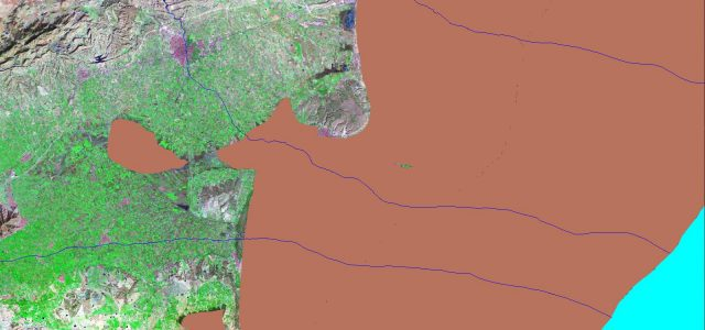 The change of the coastline in the southern part of the provinceof Alicante for the last 15,000 years have been modeled and described in the work of Tent-Manclus (2013). It […]