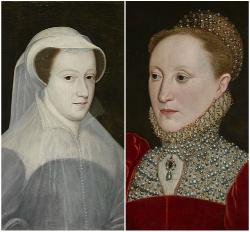 María Estuardo de Escocia e Isabel I de Inglaterra