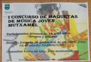 cartel concurso maquetas
