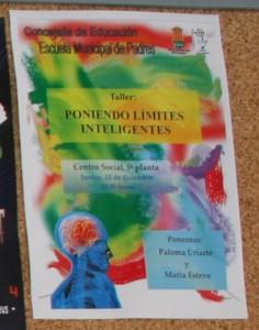 cartel escuela padres