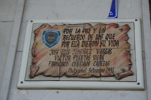 placa recuerdo