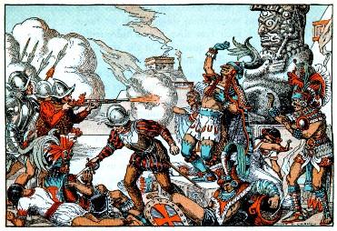 Aztec and Spanish Conquest