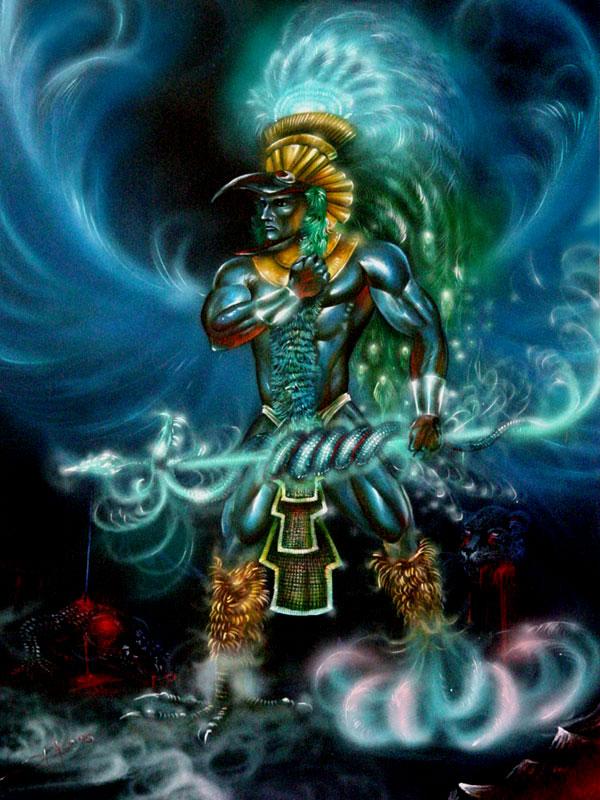 Huitzilopochtli Warrior