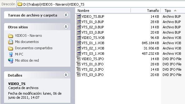 Un modo sencillo de subir un vídeo DVD a Vértice UA