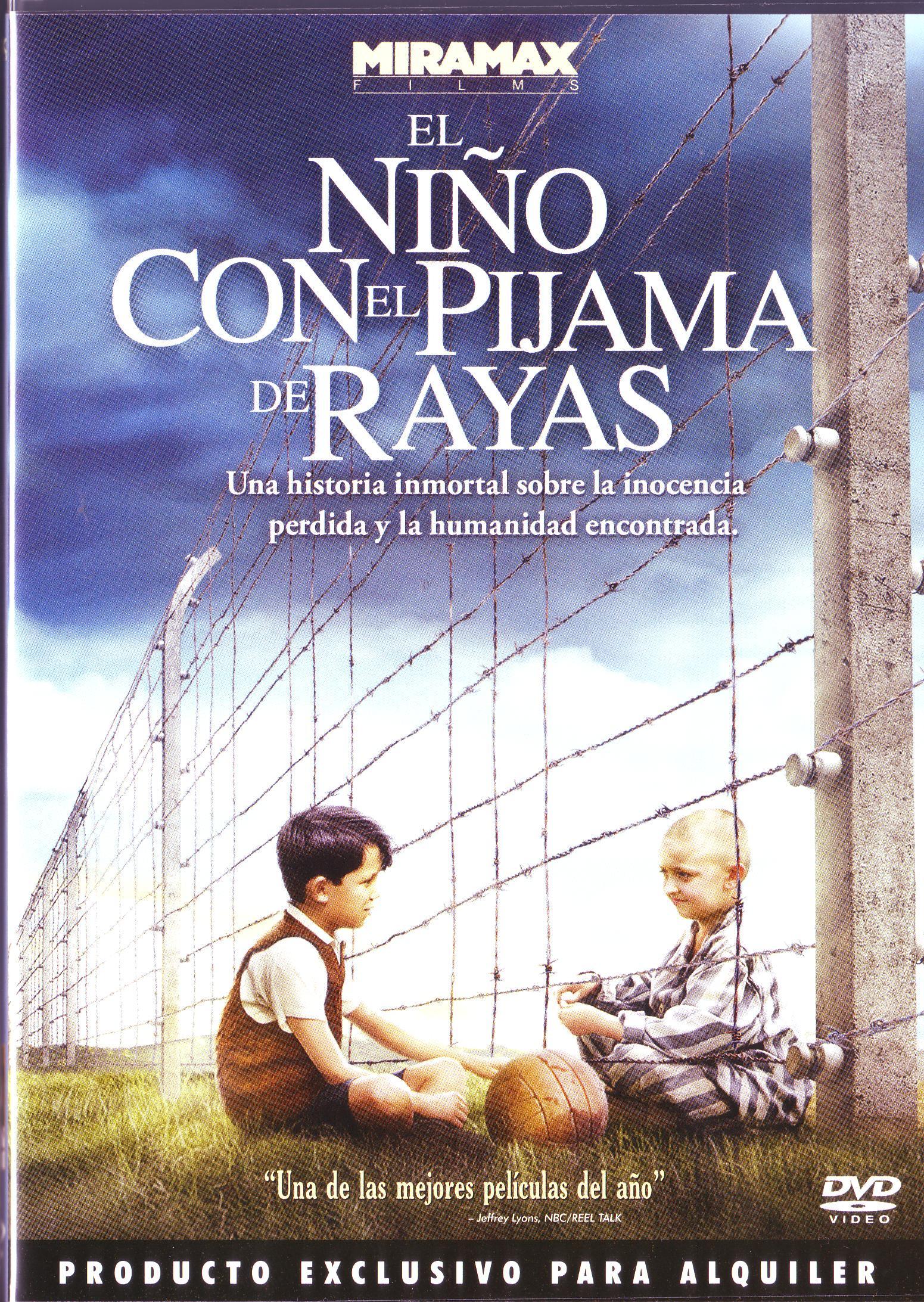 El niño con el pijama de rayas.   Películas y documentales