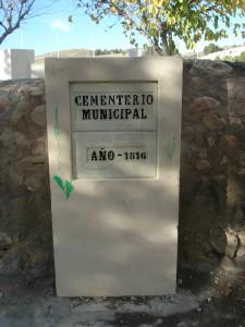 Cementerio de Petrel 1816