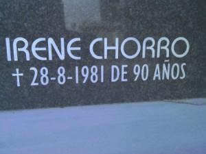 Irene Chorro