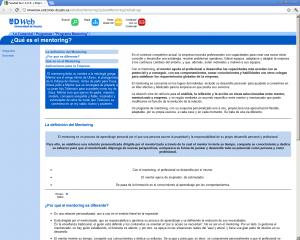 Error de estilo en la web de la Universidad de Deusto