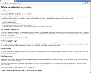motherfuckingwebsite