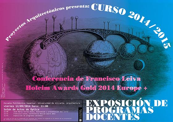 blog_CartelPresentacionCurso_14-15-Leiva