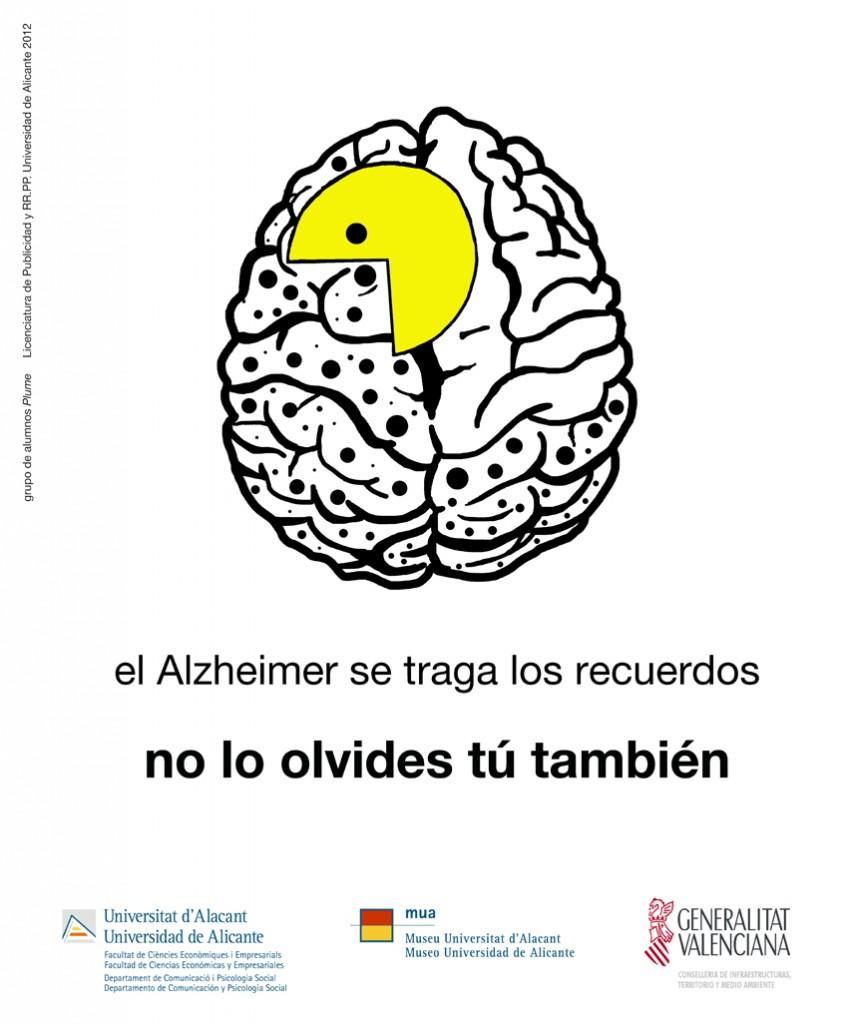 cartel MUPI: alzheimer