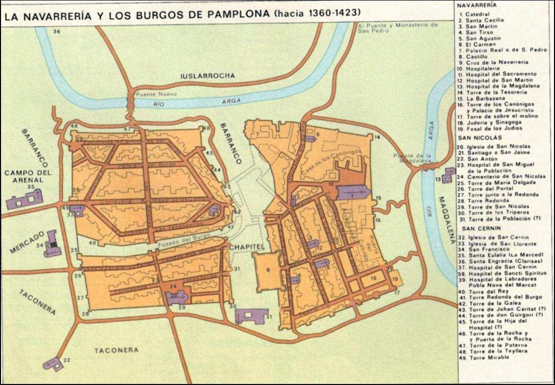 Mercennarios Agosto Dev Log #1 - Página 3 La-Navarreria-y-Los-Burgos-de-Pamplona3