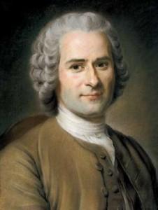 Retrato de J.J. Rousseau