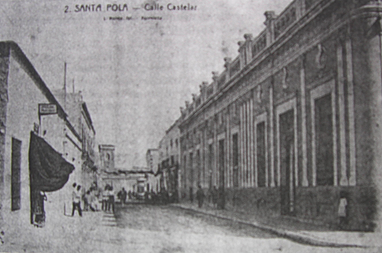 Calle santa pola en 1939 1940 for Calle castelar