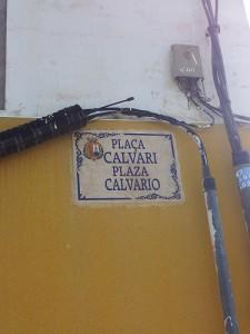 calle plaza calvario