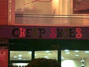Cheap shoes