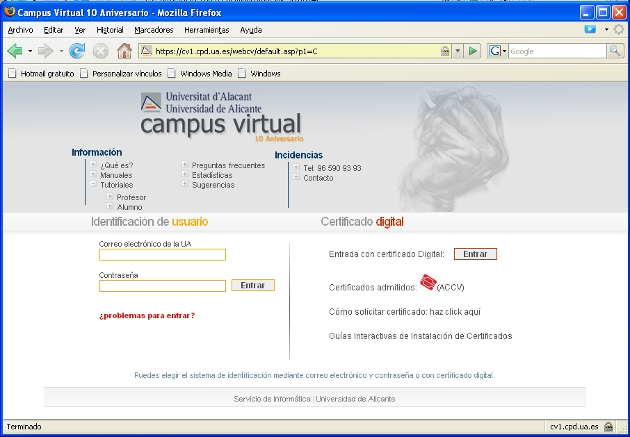 Campus Virtual UA